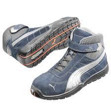 moto shoes puma s3 moto protect le mans mid 632170safety boot men u0027s shoes