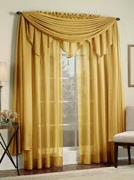 Sheer Panel Curtains Reverie Sheer Panels Scarf Gold Lorraine Casual Curtains