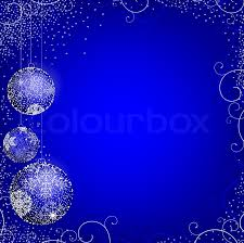 light blue decorative balls new year theme with decorative balls and copyspace in the light blue