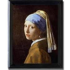 painting girl with pearl earring johannes vermeer girl with pearl earring framed canvas