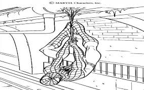 ultimate spiderman coloring pages for kids u2014 fitfru style