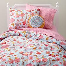 Land Of Nod Girls Bedding by Kids U0027 Bedding Girls U0027 Tiny Dancer Multi Colored Cotton Bedding In