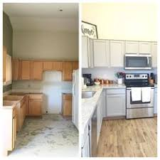Old Kitchen Cupboards Makeover - kitchen cabinets beautifully transformed with provence and old