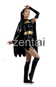 halloween female batman full body skirt zentai suit buy full body