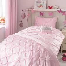 pink mia pintuck quilt cover set dunelm emily u0027s bedroom