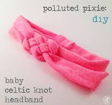 diy baby headbands diy baby celtic knot tutorial blogging celtic