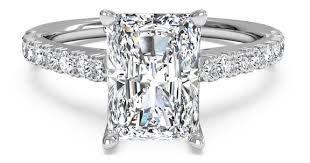 radiant cut engagement ring 5 popular radiant cut engagement rings ritani