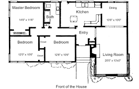 3 bedroom floor plan free small house plans for ideas or just dreaming