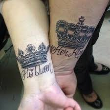 king and queen couple 32 of the best couples tattoos you u0027ll ever u2026