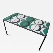 gio ponti gio ponti coffee table with original gio ponti tiles