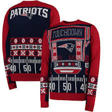 mens light up ugly christmas sweater official nfl new england patriots mens light up led ugly christmas