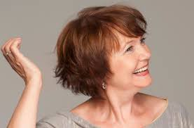 pictures on short hairstyles for women over 60 years old