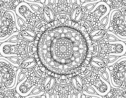 free printable mandala coloring pages for adults with abstract