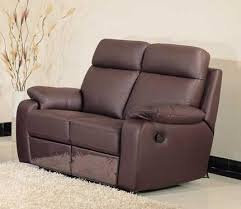 chocolate leather recliner loveseat jms1365 modern euro design
