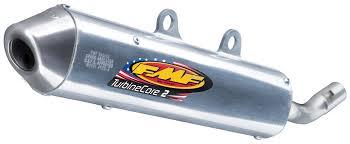 fmf turbinecore 2 silencer suzuki rm125 2001 2002 revzilla