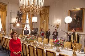 Veronique Chandelier Television Decor Set Decorators Society Of America