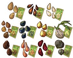 items tree seeds by introducingemy on deviantart