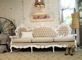 Antique French Settee Chic French Tufted Louis Sofa Chr361 1 995 00 The Painted