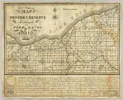 Map Of The Western States by Map Of The Western Reserve Including The Fire Lands In Ohio