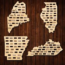 Wisconsin Wineries Map by Wine Cork Map Of Your Home State