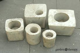 how to make concrete planters concrete planters work on excess