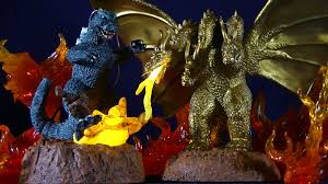godzilla and king ghidorah heirloom american greetings 2015