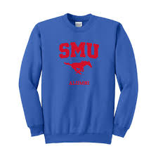 southern methodist university bookstore alumni crew neck