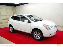 Nissan Rogue White - 2008 phantom white pearl nissan rogue s 4561316 gtcarlot com