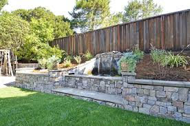 Tiered Backyard Landscaping Ideas 53 Backyard Garden Waterfalls Pictures Of Designs Designing Idea