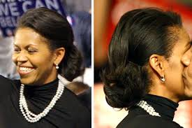 ms obamas hair new cut michelle obama michelle obama s inauguration beauty secrets