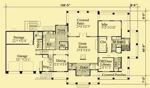 mission floor plans mission style mediterranean home plans w wrap around deck