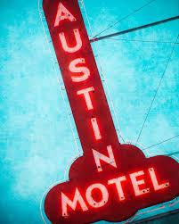 route 66 home decor austin texas wall art fine art photography austin motel