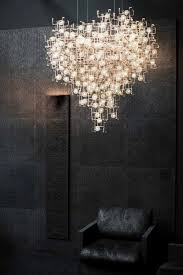 Chandelier Pinterest Sculptural Chandeliers Accented With Real Dandelion Seeds
