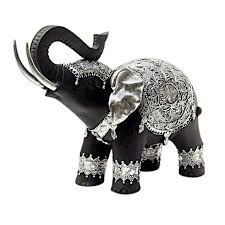urban elephant ring holder images Black silver elephant figurine at home jpg