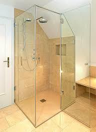 Dusche Raum -Innenarchitektur