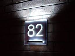 light up address sign led house numbers lighted street address signs golfocd com