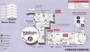 map of circus circus las vegas virginia map