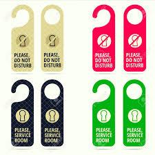 hotel door hanger template hotel door hanger for handle or knob design do not disturb