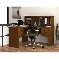 Bestar Corner Desk Bestar Innova Homepro 92000 L Shaped Desk Tuscany Brown Black