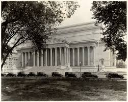 a short history of the national archives building washington dc
