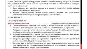 veteran resume exles sle to civilian resumes hirepurpose resume exle