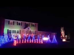 christmas light show ct trumbull ct christmas light extravaganza youtube