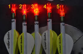 20 crossbow bolts with lighted nocks lighted nocks which is right for you