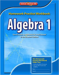 algebra 1 homework practice workbook merrill algebra 2 mcgraw