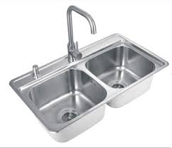 Kitchen Sink Basin by 304 Two Bowls Stainless Steel Handmade Stainless Steel Kitchen