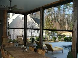 retractable porch screen systems