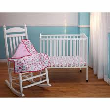 Mini Crib Bedding Sets For Girls by Interior Cute Porta Crib Bedding For Sweet Nursery Decorating