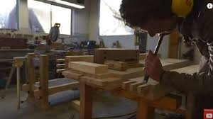 Carpentry Work Bench Watch The Samurai Carpenter Build An Epic Workbench The Samurai
