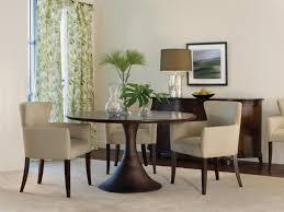 Dining Room Set Modern Table Knockout Espresso Round Pedestal Dining Table Modern Black