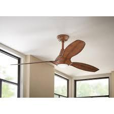 tidal breeze 56 in indoor led distressed koa ceiling fan